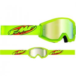 Masque FMF Core Yellow - écran or miroir