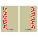 Stickers de protection fourche SHOWA