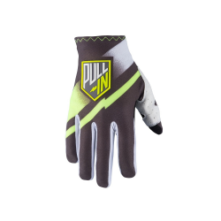 Gants PULL-IN CHALLENGER Gris / lime Taille 6