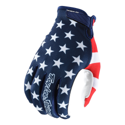 Gants Troy lee design AIR AMERICANA NVY/RED