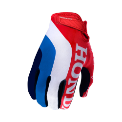 Gants Troy lee design HONDA AIR GLOVE RED/WHITE