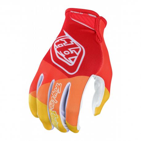 Gants Troy lee design AIR JET RED/YELLOW