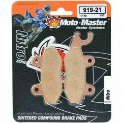 Plaquettes de frein Moto Master Nitro Sinter avant RM RMX DR