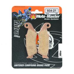 Plaquettes de frein Moto Master Nitro Sinter avant KX KXF KDX KLR
