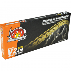 Chaîne Moto master 415 V2 130 Maillons