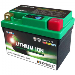 Batterie LITHIUM SKYRICH YAMAHA 250 YZF + 450 YZF