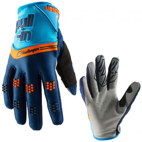 Gants PULL-IN CHALLENGER Orange / bleu Adulte Taille 7