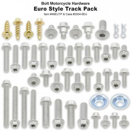 Boite de vis Track Pack Européennes