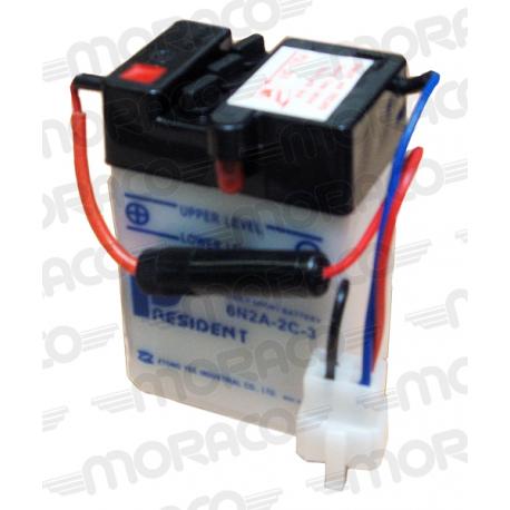 Batterie GS 6N2A-2C-3