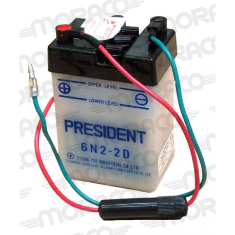 Batterie GS 6N2-2D