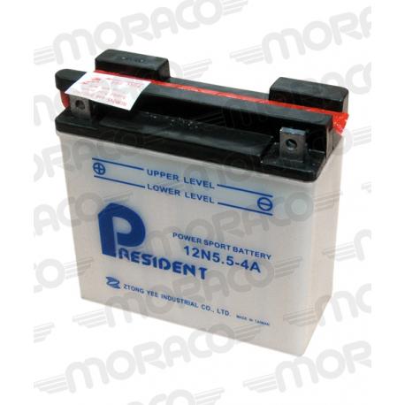 Batterie GS 12N5,5-4A