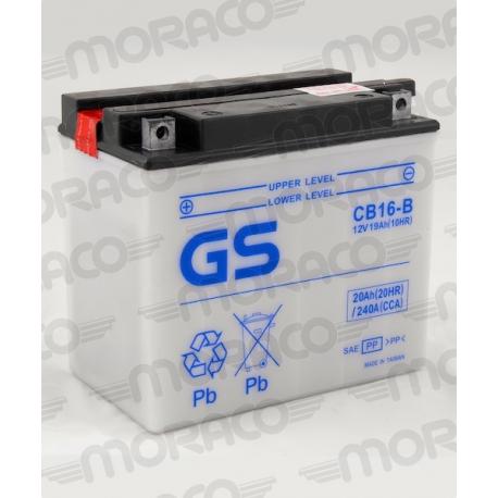 Batterie GS CB16-B