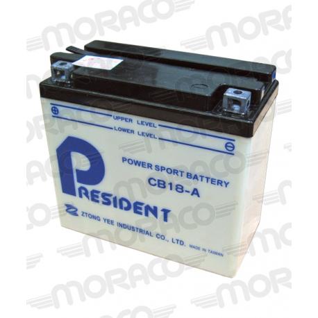 Batterie GS CB18-A
