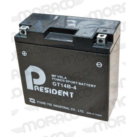 Batterie President GT14B-4