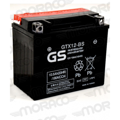 Batterie GS GTX12-BS