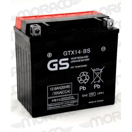 Batterie GS GTX14-BS