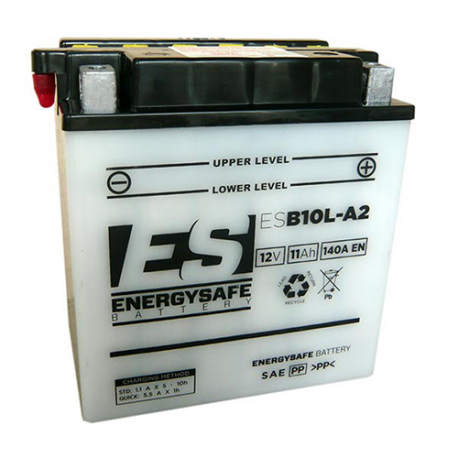 BATTERIE ES ESB10L-A2 12V/11AH Pack Acide Inclus