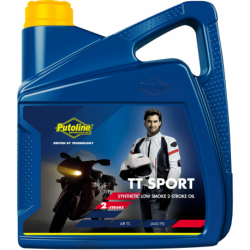 Huile moteur 2 Tps Synthétique Putoline TT Sport 4 litres