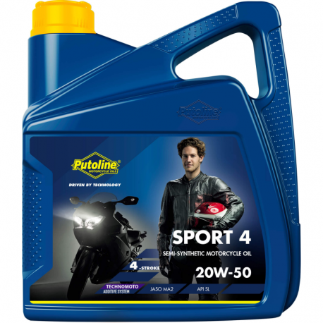 Bidon de 4 L Putoline Sport 4R 20W-50