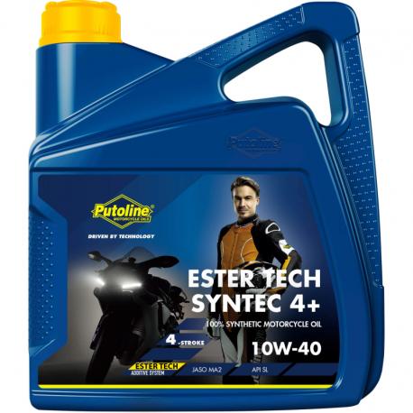Huile moteur Putoline  4 Tps 10W-40 Synthétique ET Syntec 4+