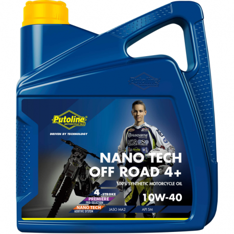 Bidon de 4 L Putoline N-Tech® Pro Off Road 10W-40
