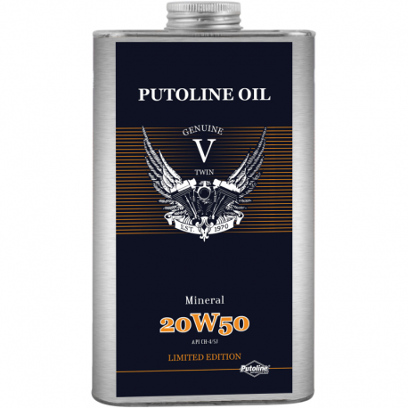 Huile Moteur Putoline Mineral V-Twin 20W50