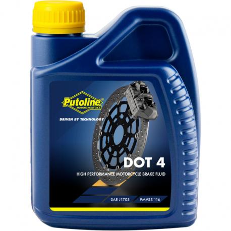 Liquide de frein 500 ml Putoline DOT 4