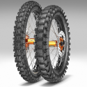 Pneu Metzeler Cross MC360 120/100-18  68M  Mid Hard