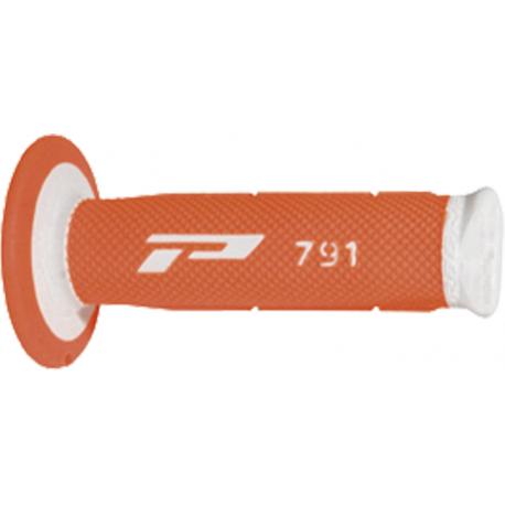 Poignées Progrip 791 - MX - Double densité - Fluo