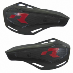 Protège mains HP1 noir avec kit montage RTECH