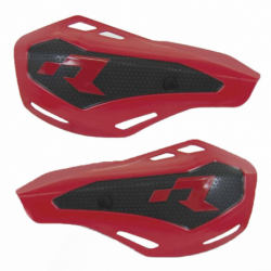 Protège mains HP1 rouge avec kit montage RTECH