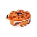 Culasse BUD RACING 125 KTM SX 2007 à 2015 - EXC 2008 à 2016 - 125 HVA 2014 à 2015 orange