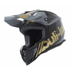 CASQUE PULL-IN ADULTE MOTO 2019 TAILLE XS / RACE GREY GOLD